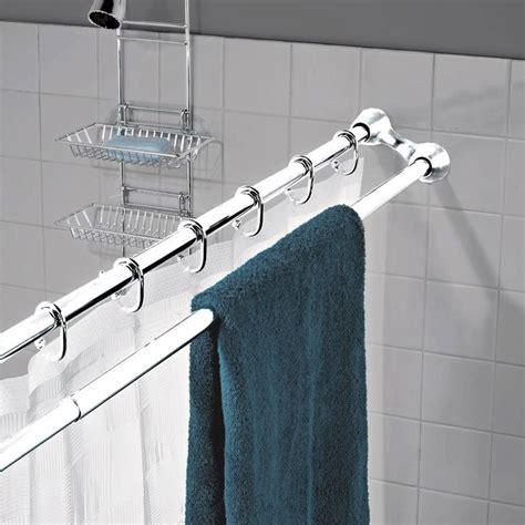 best 25 shower rod ideas on shower storage