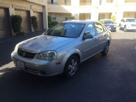 car owners manuals for sale 2006 suzuki forenza navigation system find used 2006 suzuki forenza base sedan 4 door 2 0l in costa mesa california united states