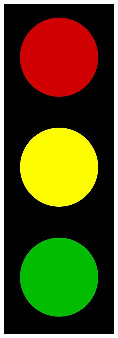 Traffic Clip Clipart Lights Stop Symbol Signal
