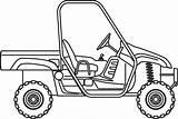 Utv Ranger Coloring Polaris Drawings Sketch Template sketch template