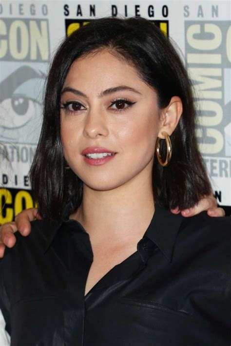 rosa salazar attends  undone press