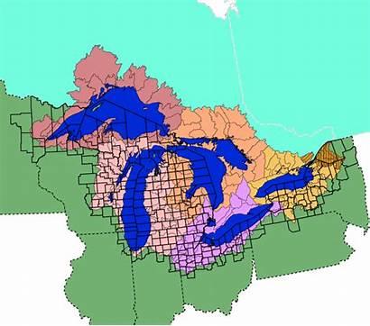 Basin Lakes Epa Many Map Watershed Facts