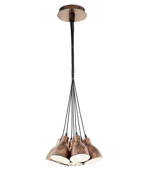 multi grouped pendant black or copper mix