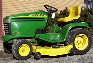 John Deere Gt235e Lawn And Garden Tractor Service Manual
