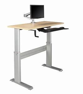 Newheights U2122 Levante Ultra Fast Crank Height Adjustable Desk