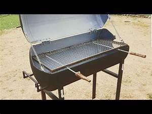 Fabriquer Un Barbecue Avec Un Bidon : comment fabriquer un barbecue avec un chauffe eau d couper un chauffe eau youtube ~ Dallasstarsshop.com Idées de Décoration