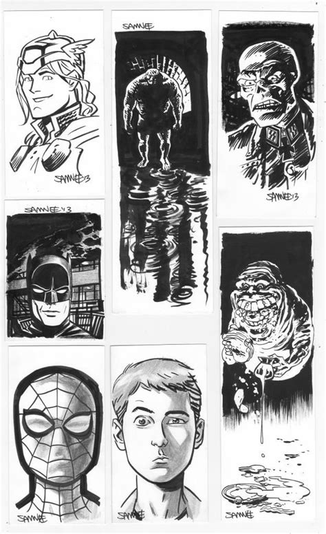 Chris Samnee (With images) | Sketch book