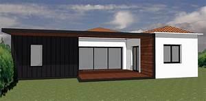 maison bn saint sebastien projet dextension bois et de With projet d extension maison