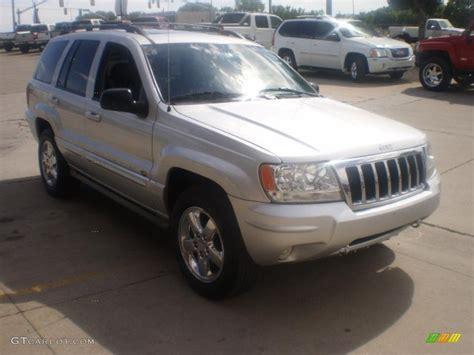 silver jeep grand cherokee 2004 2004 bright silver metallic jeep grand cherokee overland