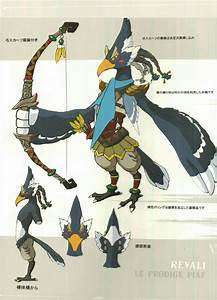 New Breath Of The Wild Concept Art Shows Off Main