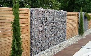 Cloture Jardin Bois : des cl tures de jardin design pour d limiter avec style ~ Premium-room.com Idées de Décoration