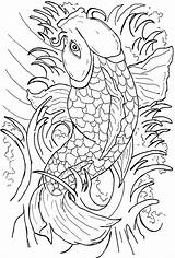 Coloring Pages Fish Japanese Koi Coy Colouring Printable Getcolorings Colorings Clip Drawing Getdrawings Library Colored Print Adult Related sketch template