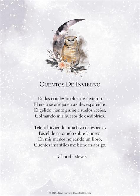poemas de invierno
