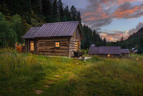 cabins in colorado echo log cabin woodz