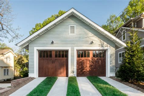 Craftsman Style Garage Doors Homesfeed