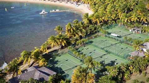 Curtain Bluff Antigua by The Best Caribbean Tennis Resorts