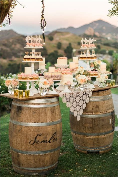 Another 20 Rustic Wine Barrels Wedding Decor Ideas