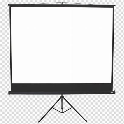 Projector Clipart Screen Projectors Projection Computer Screens