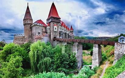 Castle Romania Corvin Hunedoara Wallpapers Attractions Castles