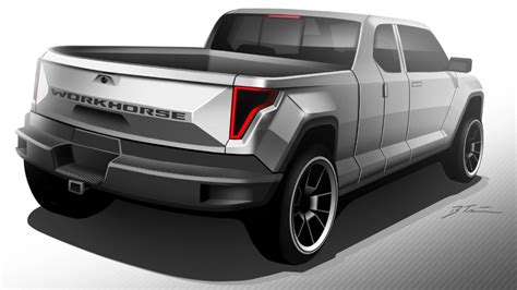 workhorse electric pickup truck workhorse electric pickup truck will get working concept