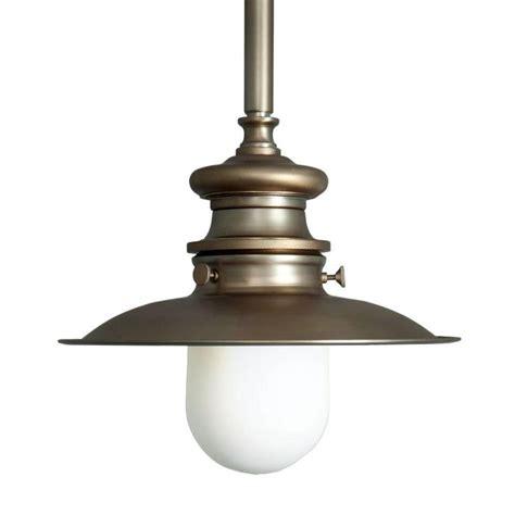 1 light ceiling antique brass extended lantern pendant
