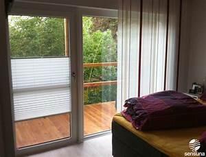 Rollos Für Balkontüren : auch f r breite balkont ren den passenden sichtschutz finden wie hier mit plissees ~ Yasmunasinghe.com Haus und Dekorationen