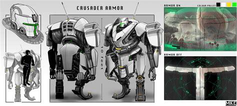 Crusader Power Armor By Michaellimsstuff On Deviantart
