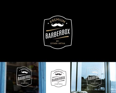 sribu desain logo desain logo  barbershop
