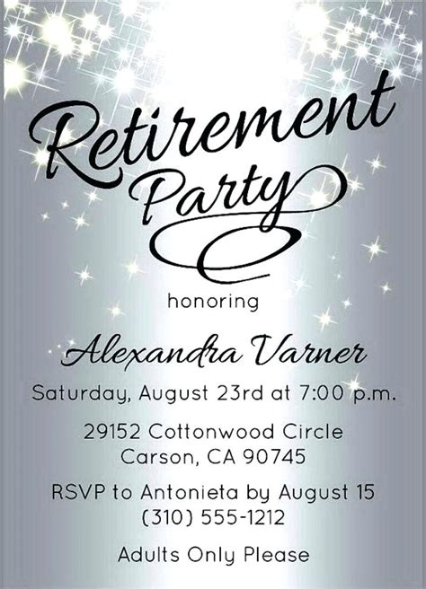 Best Retirement Invitations Ideas And Images On Bing Find What