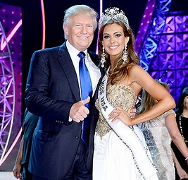 Image result for Images Trump With Miss Connecticut