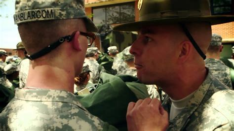 national guard bct basic training day  youtube