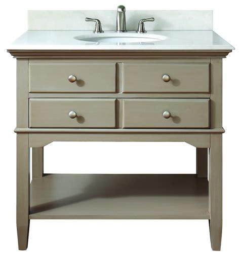 distressed bathroom vanity gray avanity 10702vs37j cannes 37 quot vanity set in distressed