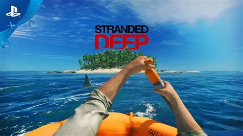 stranded deep official trailer ps youtube