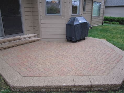 average cost of paver patio patio design ideas