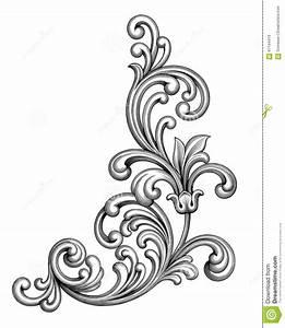 Rahmen Vorlagen Schnörkel : vintage baroque victorian frame border monogram floral ornament scroll engraved designs ~ Eleganceandgraceweddings.com Haus und Dekorationen