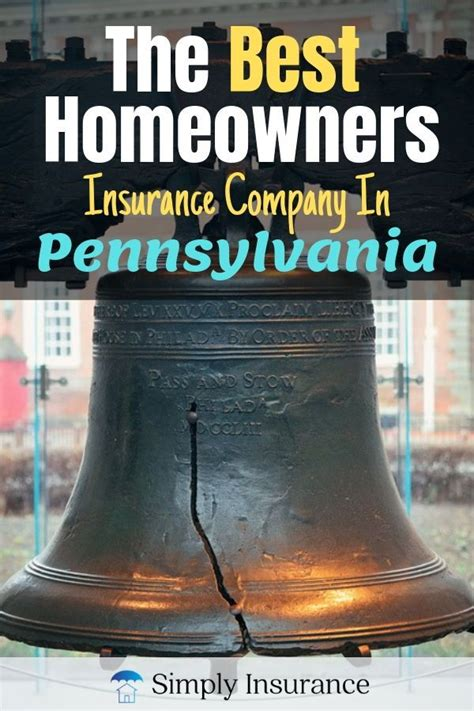Insurance.com makes researching the best homeowners insurance companies easy, so you can find the best home insurance companies on the basis of how to get the best coverage with your homeowners policy. The Best Homeowners Insurance In Pennsylvania (Get Coverage Online In 2020)   Best homeowners ...