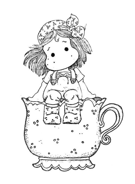 pin  mary moo  muirhead  colouring pictures