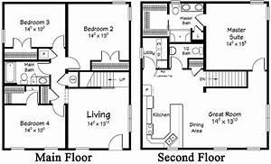 2 Story Mobile Homes Floor Plans