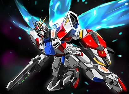 Gundam Build Fighters Burning Anime Try Strike