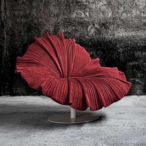 bloom chair design unique furniture bringing bright color