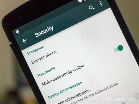 encryption for android how to enable encryption in android android central