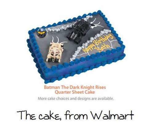 batman cake  walmart party superhero birthday
