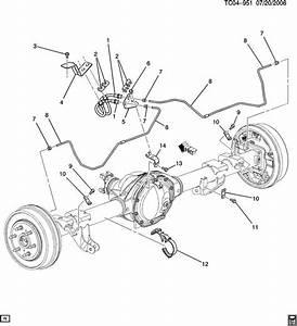 Chevrolet Tahoe Strap  Hydraulic Brake Pipe  Strap  Rr Brk