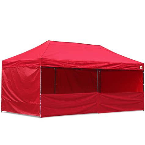 abccanopy  deluxe red pop  canopy trade show  abccanopy