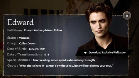 moon edward cullen photo  fanpop