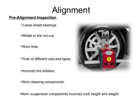 Alignment For Car