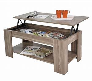 stephanie storage large solid lift up coffee table walnut With coffee table with shelf underneath