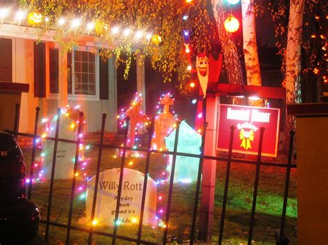 holiday living halloween lights creative halloween decorations lights for night