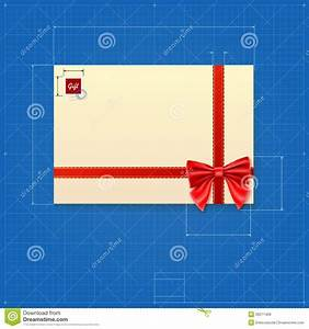 Drawing Of A Mail Envelope Stock Vector  Illustration Of
