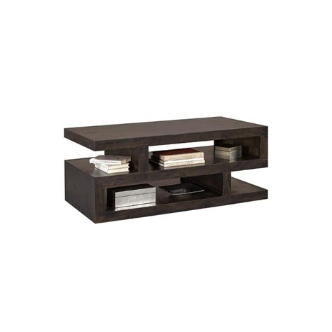 Coffee tables, also called occasional tables or side tables, come in an astonishing range of shapes, sizes and colours. Modern Black Coffee Table - Avery Loft | RC Willey ...
